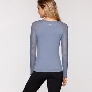 Rare! Lorna Jane Dynamo Long Sleeve Top